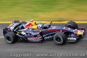 207504 - D. Couthard Red Bull - Australian Grand Prix Albert Park Melbourne 2007 - Photographer Marshall Cass