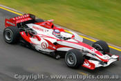 207506 - J. Trulli Toyota - Australian Grand Prix Albert Park Melbourne 2007 - Photographer Marshall Cass