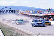 81700 - The Start of the James Hardie 100 - Bathurst 1981 - Photographer Lance J Ruting