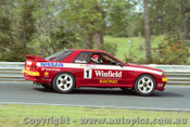 92033 - Jim Richards  - Nissan GTR - Lakeside 1992 - Photographer Marshall Cass
