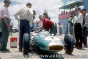 62537 - Jack Brabham - Repco Brabham Climax - AGP  Caversham  1962 - Photographer Laurie Johnson
