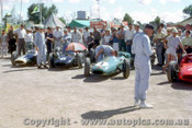 62540 - 47 B. McLaren Cooper Climax / 6 B. Stillwell / 1 J. Brabham / 4 L. Davison  - AGP  Caversham  1962 - Photographer Laurie Johnson