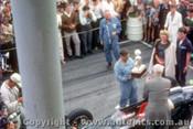 62542 - Bruce  McLaren Cooper Climax Winner of the  AGP  Caversham  1962 - Photographer Laurie Johnson