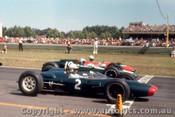 63565 - John Surtees Lola Climax / Bruce McLaren Cooper Climax / David McKay Brabham Climax  -  Warwick Farm -  10th Feb. 1963  - Photographer Laurie Johnson