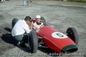63568 - David McKay Brabham Climax  -  Lakeside 1963  - Photographer Laurie Johnson