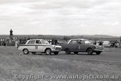 64079 - Harry Firth  Ford Cortiina GT & Jim McKeown Lotus Cortina - Calder 1964  - Photographer  Peter D Abbs