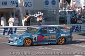 98723 - J. BRIGHT / S. RICHARDS - Ford Falcon EL - Bathurst 1998 - Photographer Marshall Cass