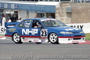98756 - R. HISLOP / T. BRIGGS - Ford Falcon EF - Bathurst 1998 - Photographer Marshall Cass