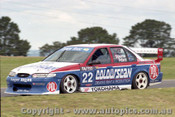 98778 - D. OSBORNE / B. PETERS - Ford Falcon EL - Bathurst 1998 - Photographer Marshall Cass