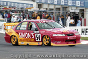 98780 - G. WILLMINGTON /  S. EMERZIDIS - Ford Falcon EL - Bathurst 1998 - Photographer Marshall Cass