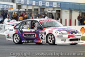 98802 - D. PARSONS / S. WILLS /  D. HOSSACK - Commodore VS - Bathurst 1998 - Photographer Marshall Cass