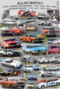 Allan Moffat - A collage of most of the cars Allan has raced.