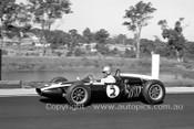 62547 - Roy Salvadori, Cooper - Sandown 1962 - Photographer Peter DAbbs