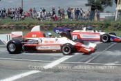 83601 - Mike Trengrove, Elfin MR5 F5000 & Michael Adams Elfin 815   - Adelaide  1983  - Photographer Peter Green