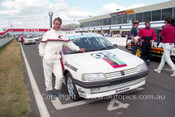 92035 - Peter Brock, Peugeot 405 Mi16  - Bathurst 12 Hour 1992 -  Protographer Ray Simpson