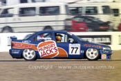 95026 - Jim Richards Ford Mondeo - Easter Creek 1995 - Photographer Marshall Cass