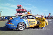 95027 - Jim Richards Porsche - Lakeside 1995 - Photographer Marshall Cass
