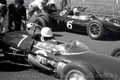 62552 - Stirling Moss  Lotus 21 Climax - Sandown 1962 - Photographer  Peter D'Abbs