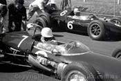 62552 - Stirling Moss  Lotus 21 Climax - Sandown 1962 - Photographer  Peter D'Abbs