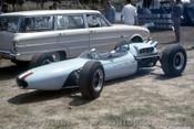 65542 - Frank Matich -  Brabham Climax - Warwick Farm  Tasman Series 1965 - Photographer Adrien Schagen