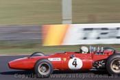 68601 - Chris Amon, Dino Ferrari  -   Warwick Farm Tasman Series 1968 - Photographer David Blanch