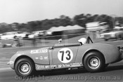 70469 - Jim Seeto, Austin Healey Sprite - Warwick Farm 1970 - photographer David Blanch