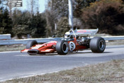 71642 - Alan Hamilton  - McLaren M10B - Sandown 1971  - Photographer Peter D'Abbs