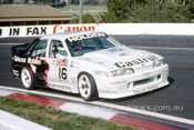 90758  -  W. Percey / A. Grice  -  Bathurst 1990 - 1st Outright - Holden Commodore VL - Photographer Ray Simpson