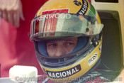 93512 - Ayrton Senna - McLaren Ford  - Australian Grand Prix Adelaide 1993 -Photographer Marshall Cass