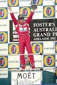 93513 - Ayrton Senna - McLaren Ford  - Australian Grand Prix Adelaide 1993 -Photographer Marshall Cass