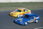 94043 - Ellery & Longhurst, Ford Sierra - Eastern Creek 1994 - Photographer Marshall Cass