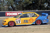 94743  -  D. Johnson / J. Bowe - Falcon EB -  1st Outright  Bathurst 1994 - Photographer Ray Simpson