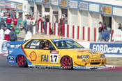 94744  -  D. Johnson / J. Bowe - Falcon EB -  1st Outright  Bathurst 1994 - Photographer Marshall Cass