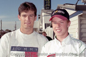 97010 - Mark Webber & James Courtney - Bathurst 1997 - Photographer Marshall Cass