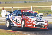 99222 - Craig Lowndes  Holden Commodore VT -  Sandown 1999 - Photographer Marshall Cass