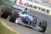 96503 - Danon Hill, Williams Renault - Australian Grand Prix Adelaide 1996 - Photographer Marshall Cass