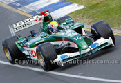 203503 - Mark Webber  Jaguar-Cosworth -  Australian Grand Prix  Albert Park 2003 - Photographer Marshall Cass