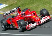 203505 - Rubens Barichello, Ferrari -  Australian Grand Prix  Albert Park 2003 - Photographer Marshall Cass
