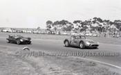 62428 - Bob Jane Maserati 300S & Bib Stillwell Cooper Monaco - Calder  1962 - Photographer Peter D'Abbs