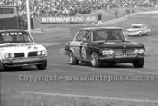 79071 - L. Brown / B. Boyd BMW & M. M. Power, Triumph Dolomite - Sandown Hang Ten 400 9th September 1979 - Photographer Darren House