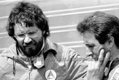79630 - Alfredo Costanzo & John Bowe  -  Winton  Rose City 10,000 - 28th October 1979 - Photographer Darren House