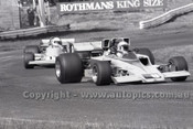 79652 - Ian Adams, Lola T330 & Mel McEwin Repco Matich - Sandown 9th September 1979 - Photographer Darren House
