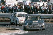 88075 - R. Francevic & Bagnall Ford Sierra - ATCC Wanneroo April 1988 - Photographer Ray Simpson