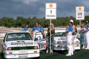 88077 - Jim Richards & Peter Brock BMW - ATCC Wanneroo April 1988 - Photographer Ray Simpson