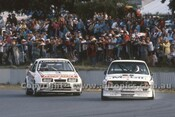 88081 - Jim Richards BMW & T. Longhurst Ford Sierra - ATCC Wanneroo April 1988 - Photographer Ray Simpson