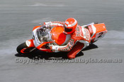 88305  - Michael Dawson, Yamaha - Superbikes Symmons Plains 1988 - Photographer Ray Simpson