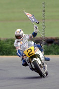 89304 - Wayne Gardner  Honda - 500cc Australian Grand Prix Phillip Island 1989  - Photographer Ray Simpson