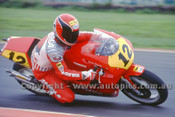 89306 - Randy Mamola, Gagiva - 500cc Australian Grand Prix Phillip Island 1989  - Photographer Ray Simpson