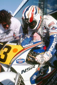 91303 - Mick Doohan, Honda - 500cc Australian Gran Prix  Eastern Creek 1991 - Photographer Ray Simpson