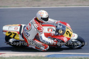 91313 - Didier De Radigues, Suzuki - 500cc Australian Gran Prix  Eastern Creek 1991 - Photographer Ray Simpson